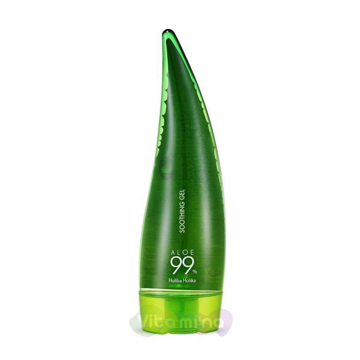 Holika Holika Универсальный гель 99% алоэ вера Aloe Soothing Gel, 250 мл