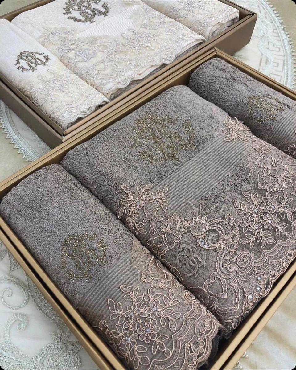 оригинальный набор полотенец