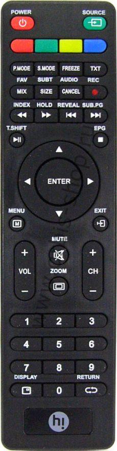 Пульт Hi E05-DTV