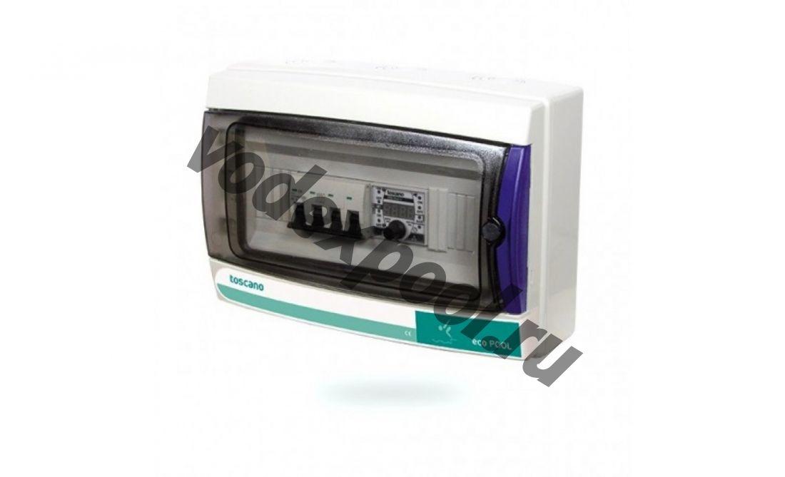 Панель управления фильтрацией Toscano ECO-POOL-B-400-D 10002584 (380В) с таймером, Bluetooth