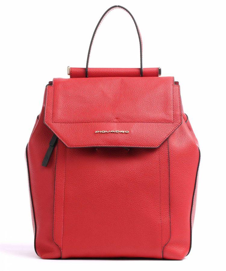 Женский кожаный рюкзак Piquadro CA4579W92/R2 красный