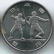 Олимпиада Токио 2020 100 иен Япония 2018 Набор 2 монеты Первая серия Новинка!!!
