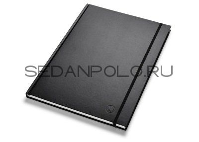 Блокнот Volkswagen Logo Notebook A4, Black