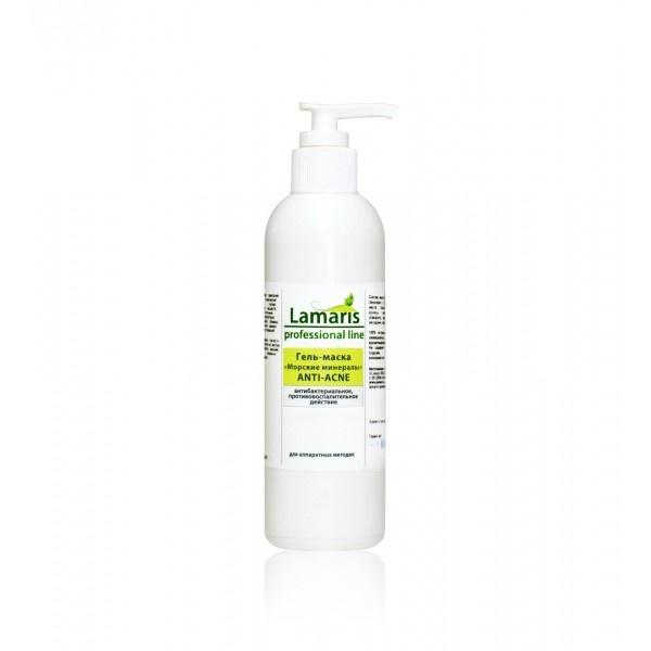 """Lamaris Гель-маска """"Морские минералы""""  с маслом чайного дерева  Anti-Acne для лица, 200 мл"""