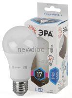 Лампы СВЕТОДИОДНЫЕ СТАНДАРТ LED A60-17W-840-E27  ЭРА (диод, груша, 17Вт, нейтр, E27)