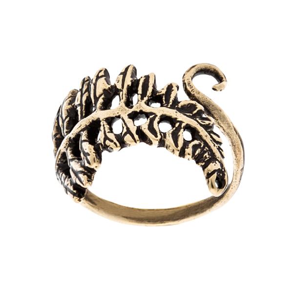 Перстень Ветвь папоротника