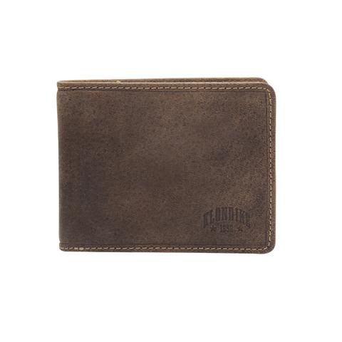 Бумажник Klondike Peter, коричневый