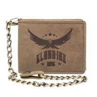 Бумажник Klondike Happy Eagle, коричневый