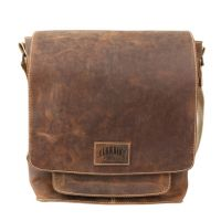 Кожаная мужская сумка через плечо Klondike Native, коричневая