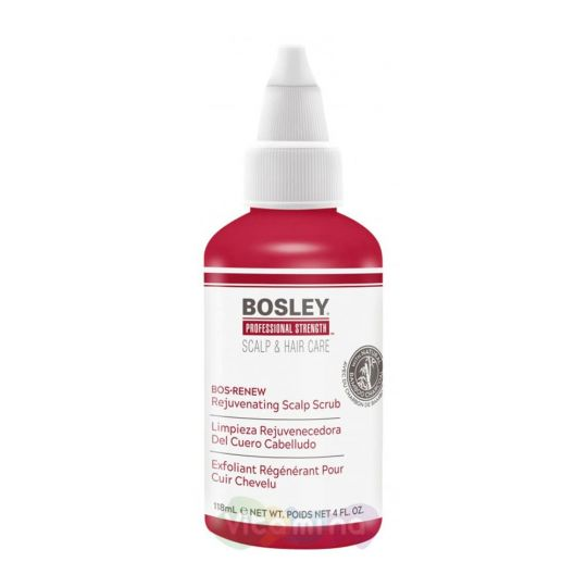 BOSLEY Скраб обновляющий для кожи головы REJUVENATING SCALP SCRUB, 118мл