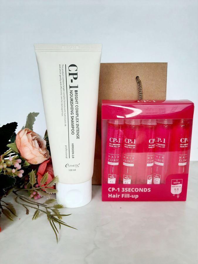 Набор для волос CP-1 (шампунь протеиновая 100+ филлер 13*5)