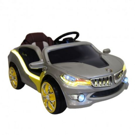 Детский электромобиль O002OO Vip серебристый