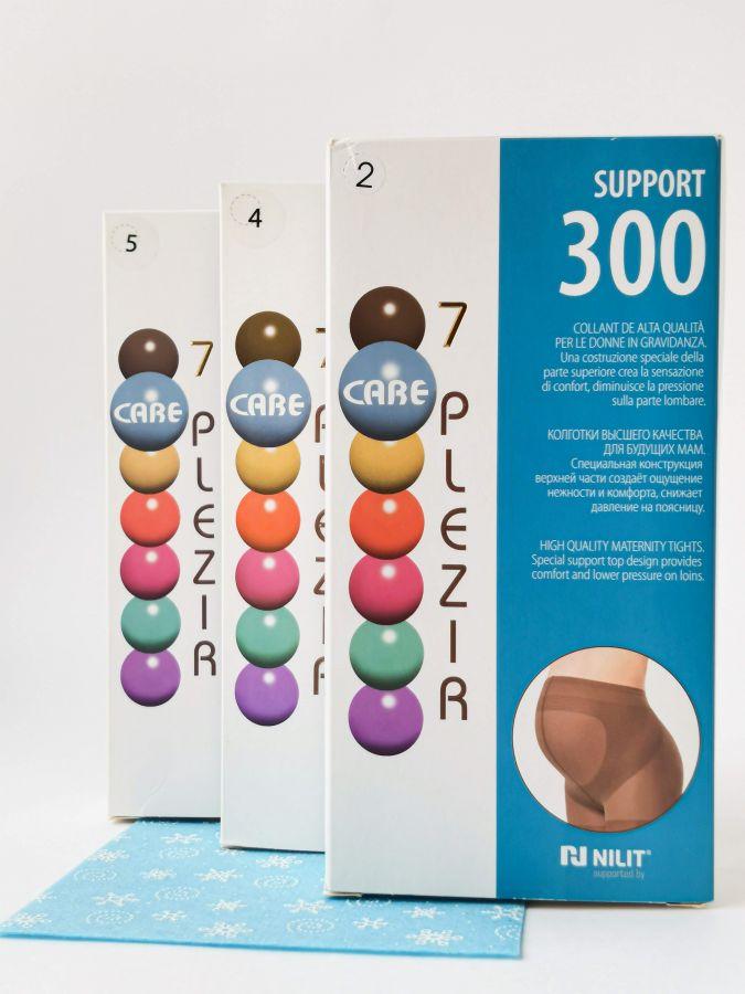 Колготки для беременных Support 300 den; цвет: мокко