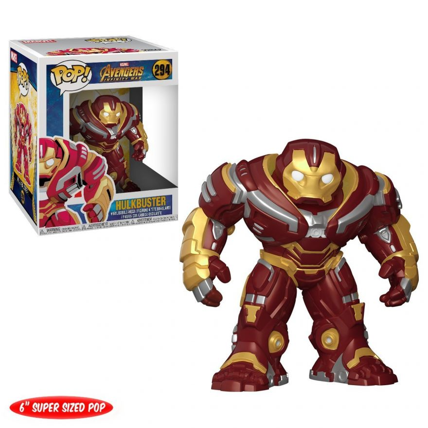 "Фигурка Funko POP! Bobble: Marvel: Avengers Infinity War: 6"" Hulkbuster 26898"