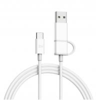 Кабель ZMI USB Type-C - USB Type-C/USB (AL311) 1 м ( Белый )