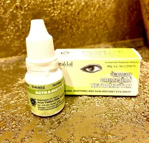 Netramritam (Нетрамритам) - аюрведические глазные капли