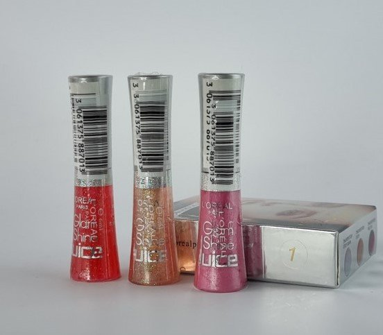 Блеск для губ Loreal 3 Lipgloss Glam Shine №1 6 ml (упаковка)