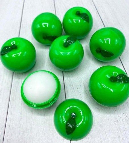 Увлажняющий, смягчающий и питающий кожу бальзам для губ Зеленое яблоко (1301)