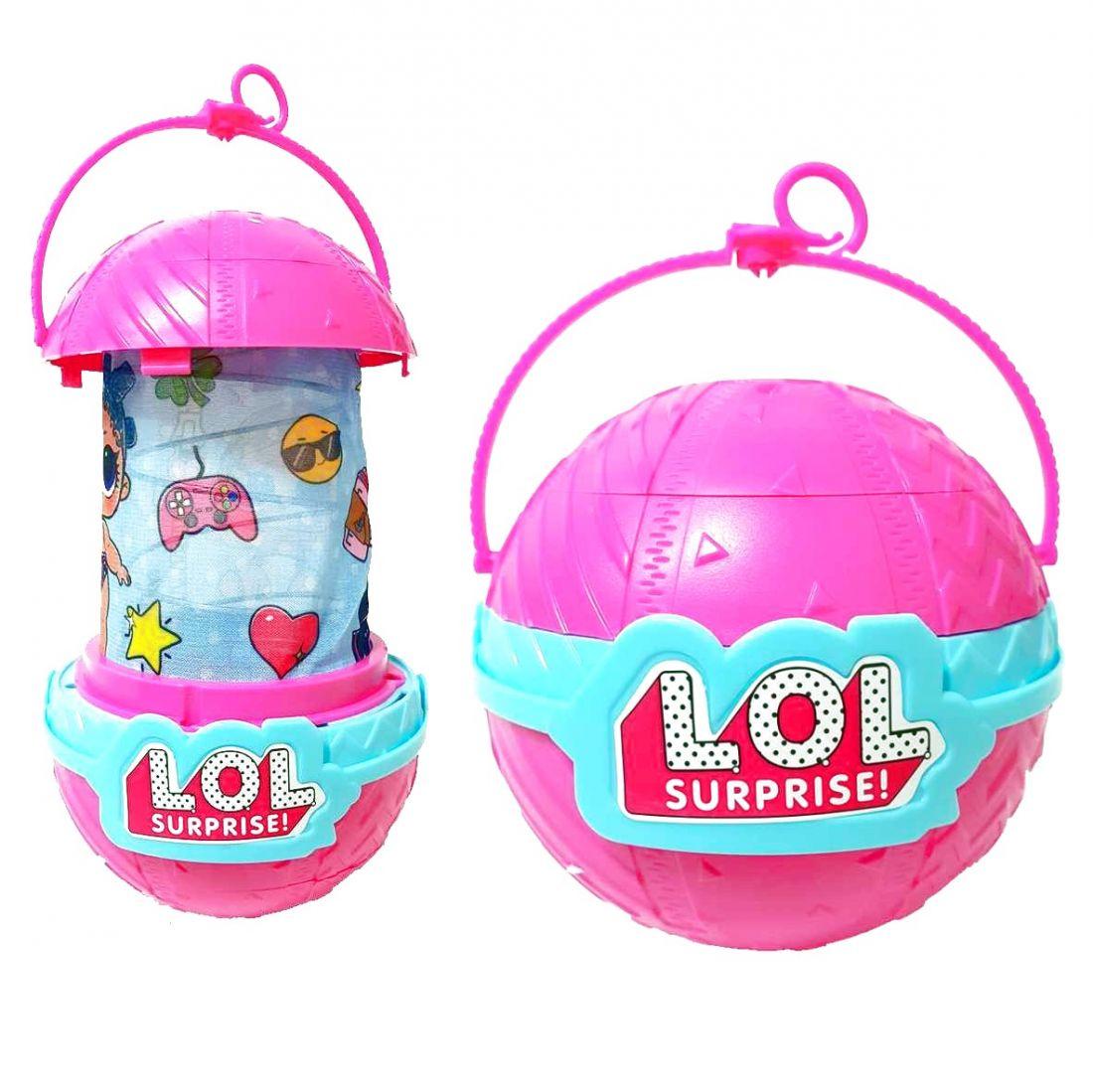 LOL Surprise Ночник-фонарик в шаре розовый