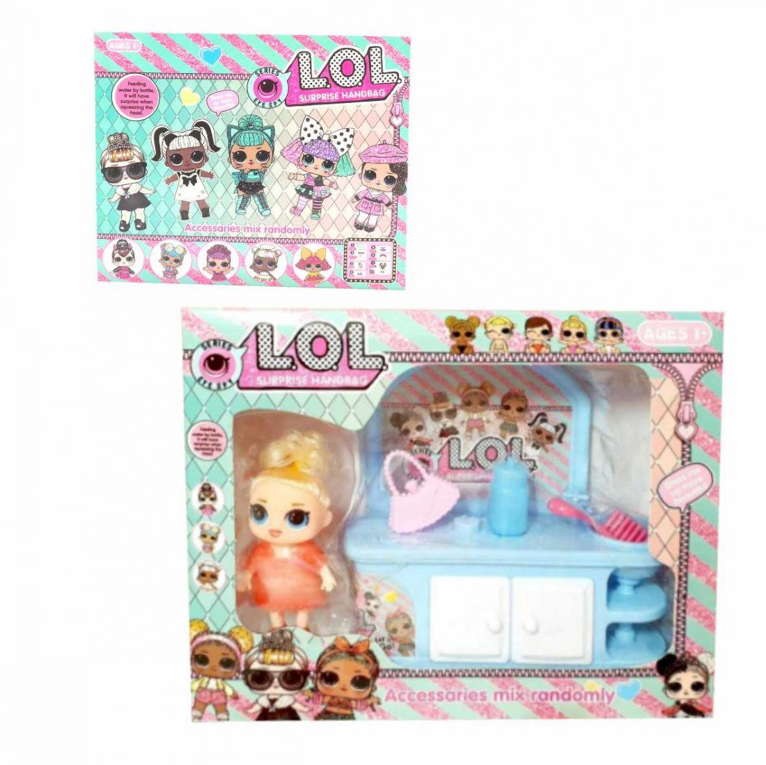 Набор LOL кукла и туалетный столик с принадлежностями