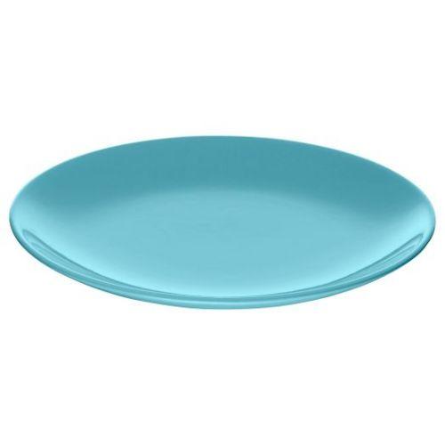 FARGRIK ФЭРГРИК, Тарелка десертная, каменная керамика/бирюзовый, 21 см - 504.639.60