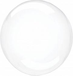 Сфера 3D, Deko Bubble 22''/ 56 см, прозрачный, Китай