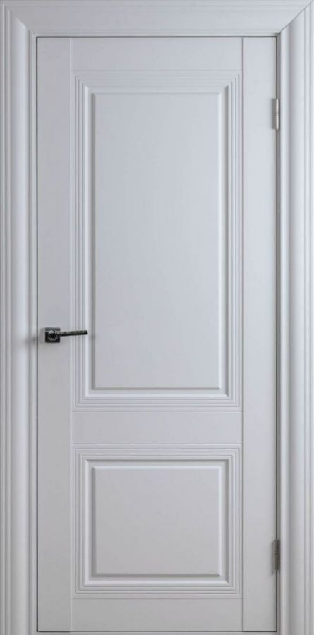 Дверное полотно Арт Классик-1F Белый Шёлк