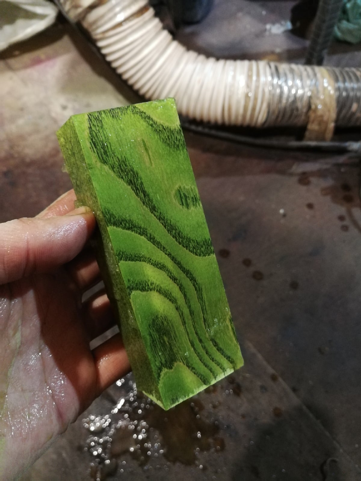 Краситель для стаб состава зеленый луг. 10гр