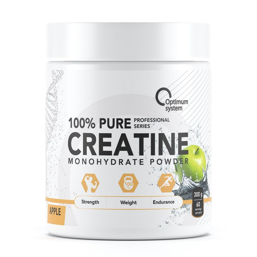 Optimum System Pure Creatine Monohydrate 300гр 60 порций со вкусом