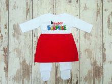 Костюм: платье, евро-ползунки Kinder Surprise, размер 62, dA-KS081(e)-ITpk