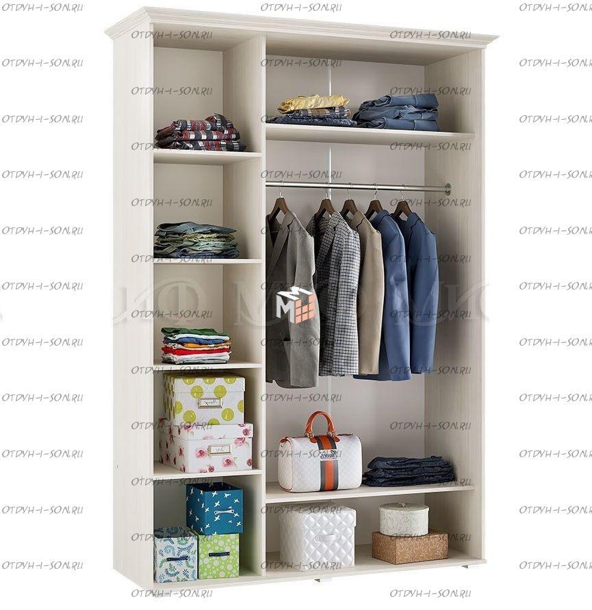 Шкаф 3-х дверный Престиж, 2 цвета