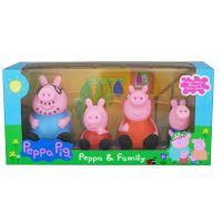 Игровой набор из 4-х фигурок Свинка Пеппа и ее семья