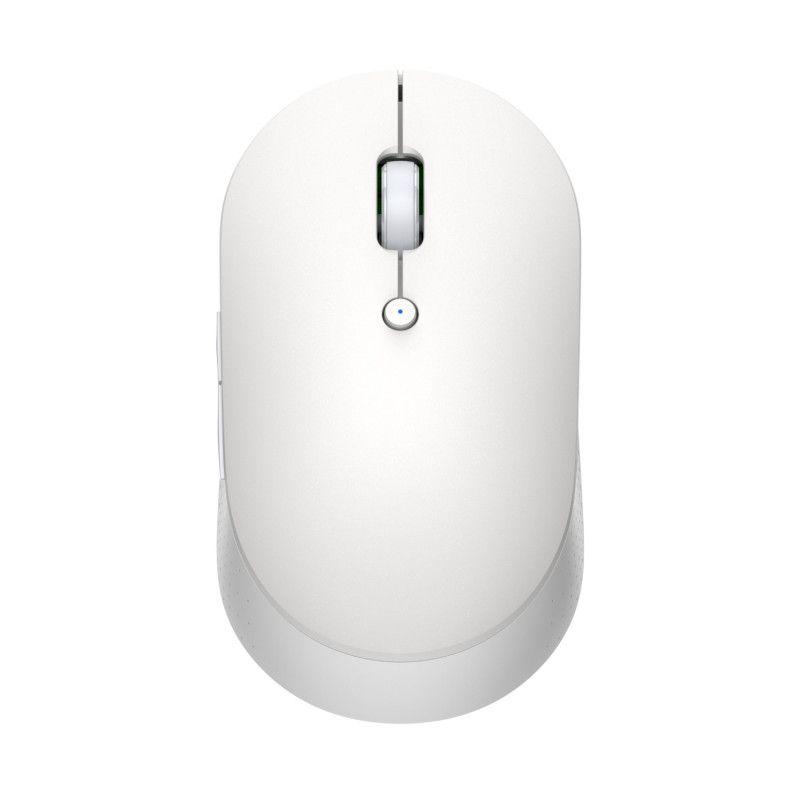 Беспроводная мышь Xiaomi Mi Dual Mode Wireless Mouse Silent Edition ( HLK4041GL ) (Белая)