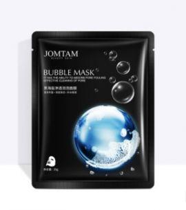 Кислородная пузырьковая маска JOMTAM с морской солью и зеленым чаем.(30004)