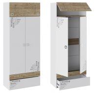 Шкаф для одежды Оксфорд ТД-139.07.22 (88х45х220,3)