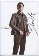 Автограф: Дэвид Моррисси. Ходячие мертвецы / The Walking Dead