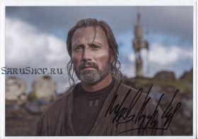 Автограф: Мадс Миккельсен. Изгой-один: Звёздные войны. Истории