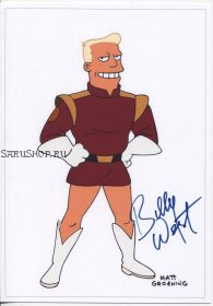 Автограф: Билли Уэст. Футурама / Futurama