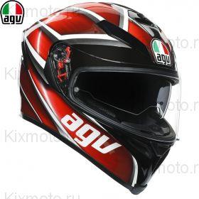 Шлем AGV K-5 S Tempest, Черно-красный