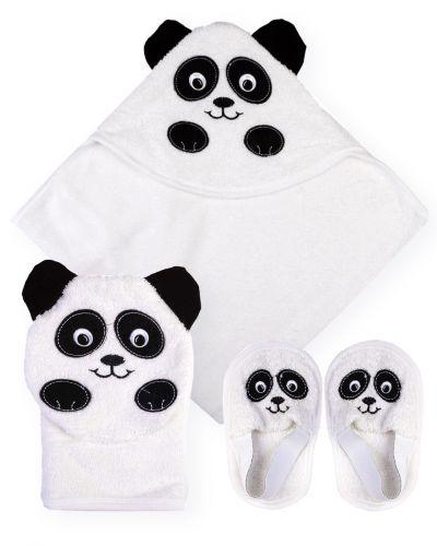 """Банный набор для новорожденных Bonito """"Панда"""""""