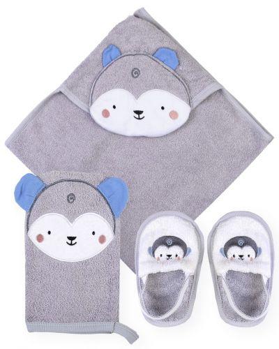 """Банный набор для новорожденных Bonito """"Мышонок"""""""