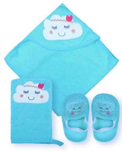 """Банный набор для новорожденных Bonito """"Облачко"""""""