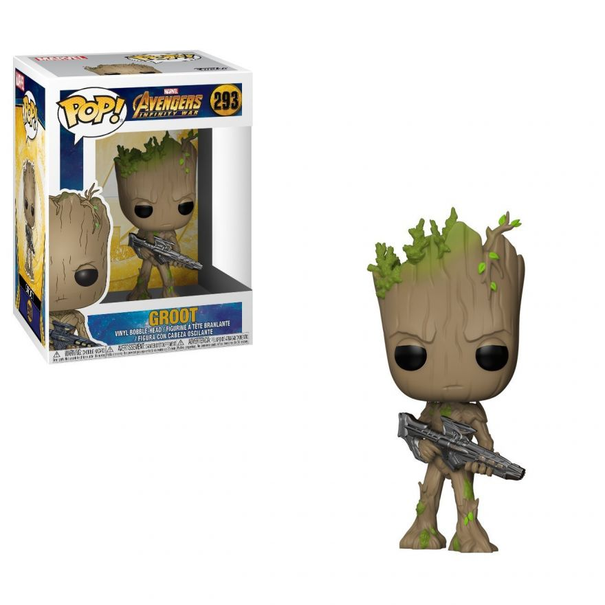 Фигурка Funko POP! Bobble: Marvel: Avengers Infinity War: Groot 26904