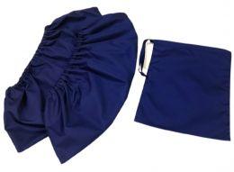 Бахилы многоразовые взрослые темно синие