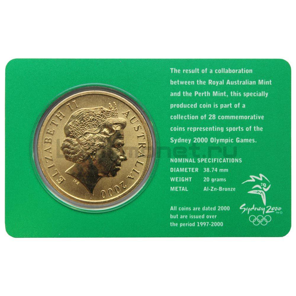 5 долларов 2000 Австралия Гандбол (Олимпийские игры в Сиднее)