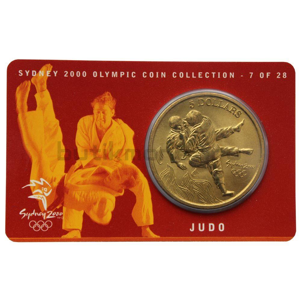 5 долларов 2000 Австралия Дзюдо (Олимпийские игры в Сиднее)