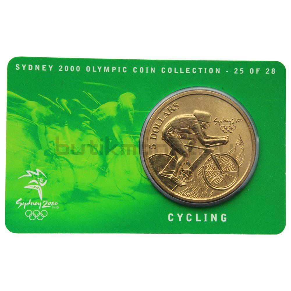 5 долларов 2000 Австралия Велоспорт (Олимпийские игры в Сиднее)