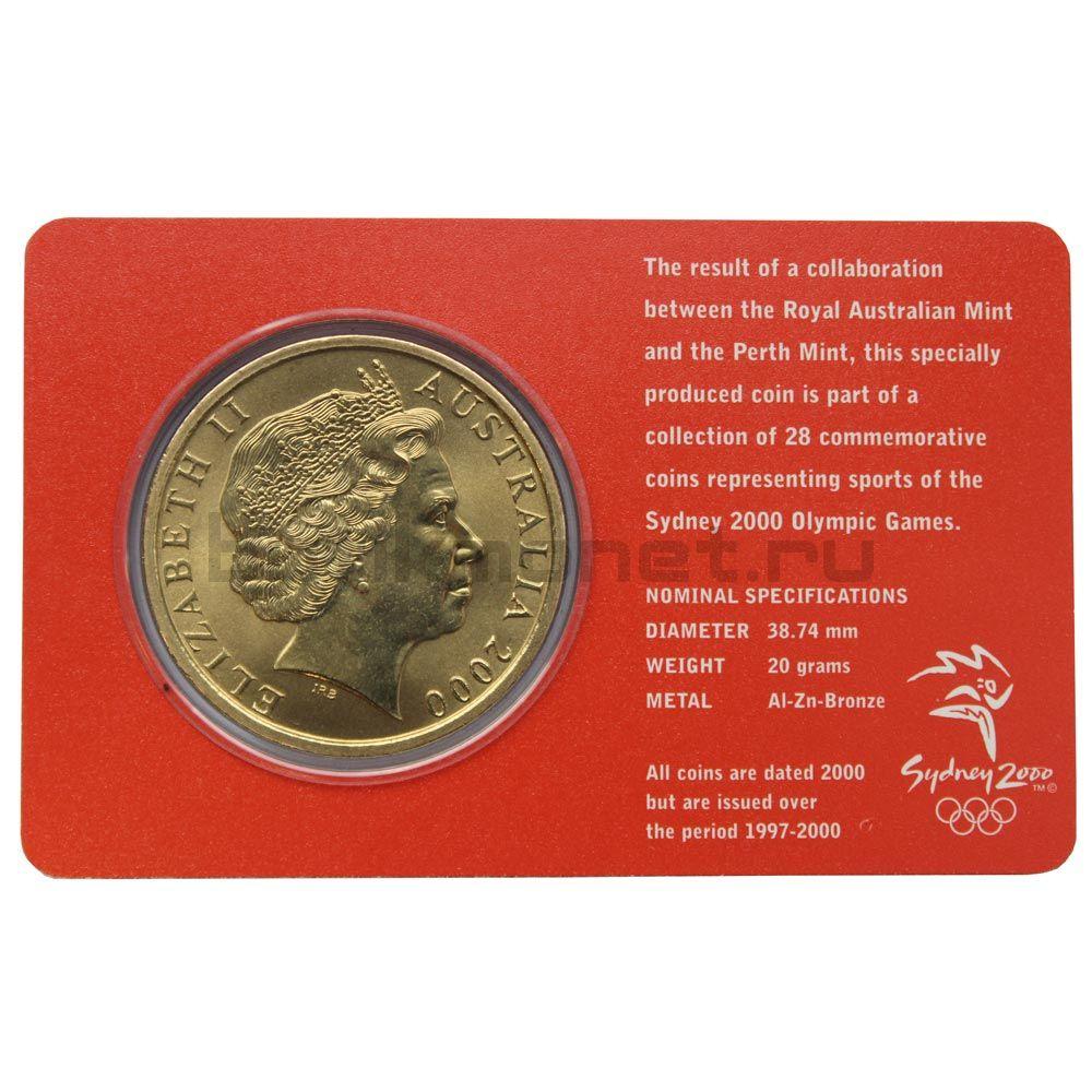 5 долларов 2000 Австралия Конный спорт (Олимпийские игры в Сиднее)