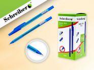 """Ручка шариковая: матовый корпус, """"новое перо"""", синяя (арт. S 816)"""