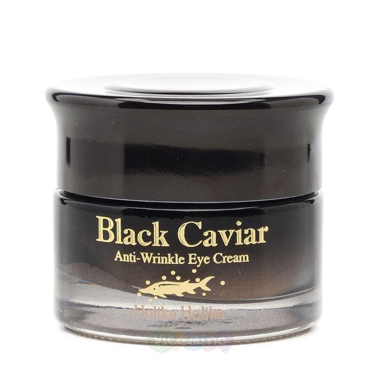 Holika Holika Антивозрастной крем с экстрактом черной икры для кожи вокруг век Black Caviar Antiwrinkle Eye Cream